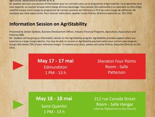 Sessions d'information sur l'Agri-stabilité