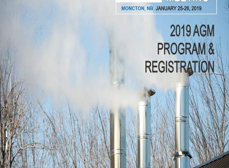 AGM - January 25-26, 2019 - Moncton