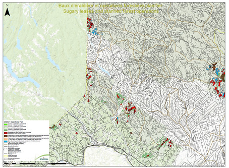 Harvesting - Operation Plan 2020-21                          Northwest of New Brunswick