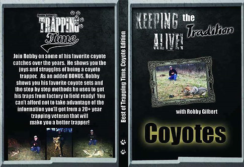 The Best of Trapping Time: The Coyote Edition by Gilbert (DVD)