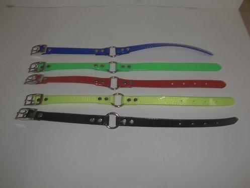 "3/4"" Day Glo Ring N Center Collar 12.5""-15.5"""