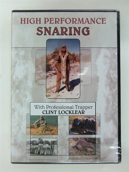 High Performance Snaring Vol. 1 by Clint Locklear (DVD)