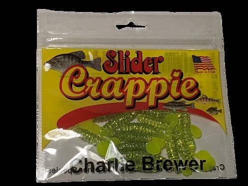 Slider Crappie Grub Charlie Brewer