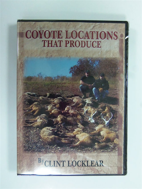 Coyote Locations That Produce by Clint Locklear (DVD)