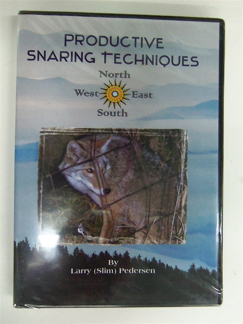 Productive Snaring Techniques by Pederson (DVD)