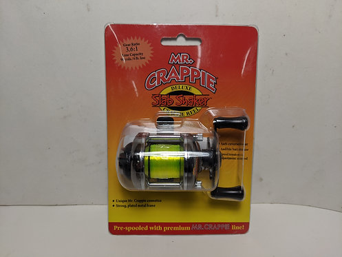 Mr. Crappie Slab Shaker Deluxe Reel 3.6:1 Gear Ratio