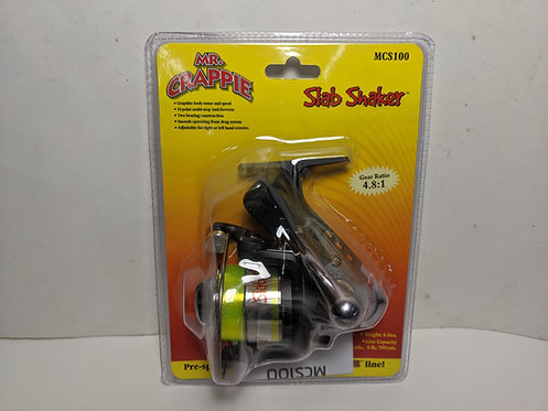 Mr. Crappie Slab Shaker 4.8:1 Gear Ratio MCS100