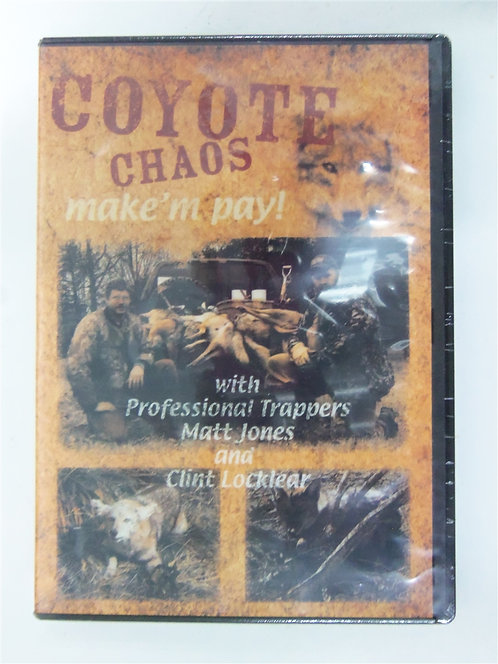Coyote Chaos by Clint Locklear (DVD)