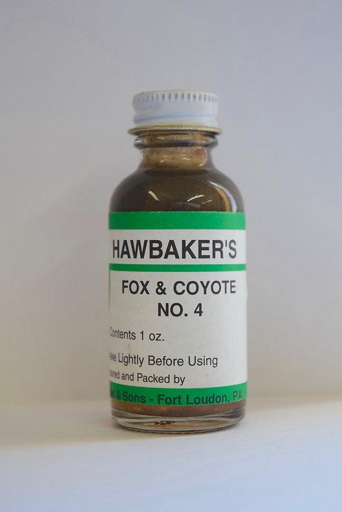 Fox & Coyote No. 4