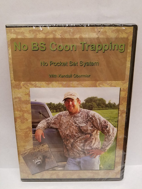 No BS Coon Trapping by Obermier (DVD)