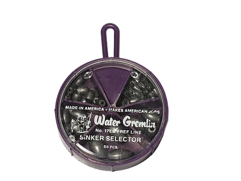 Water Gremlin Egg Sinker Fry Pan Selector