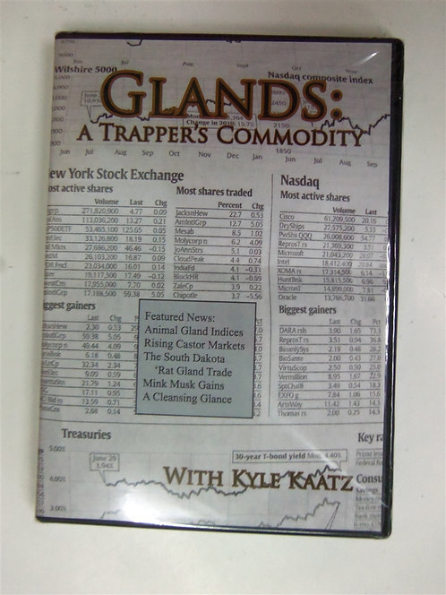 Glands: A Trapper's Commodity by Kaatz (DVD)