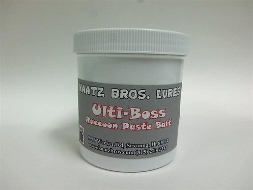 Kaatz Ulti-Boss Raccon Paste Bait 16oz