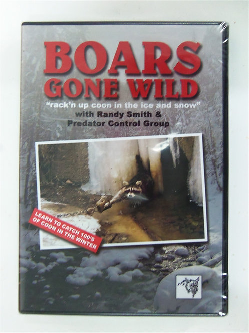 Boars Gone Wild by Randy Smith & Clint Locklear (DVD)