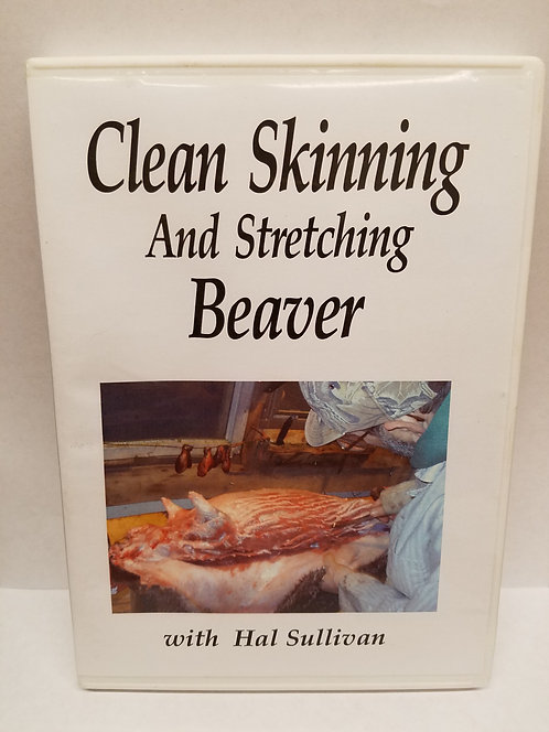 Clean Skinning & Stretching Beaver by Sullivan (DVD)