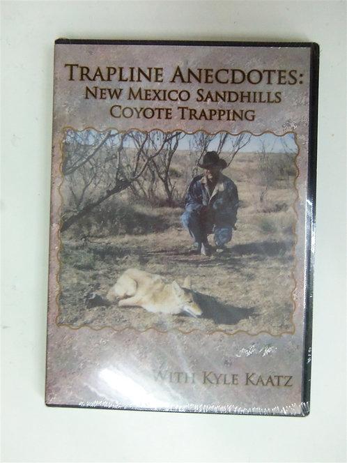 Trapline Anecdotes: New Mexico Sandhills Trapping by Kaatz (DVD)