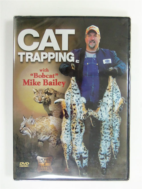 Bobcat Trapping by Bailey (DVD)