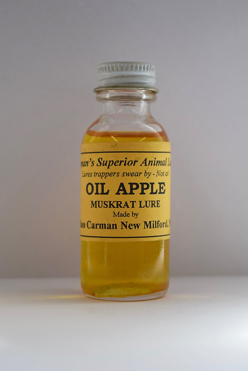 Oil Apple: Muskrat Lure