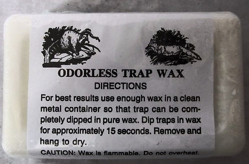 White Trap Wax