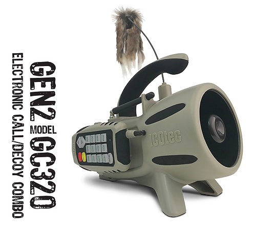 ICOtec GC320 GEN2 Electronic Game Call & Decoy Combo