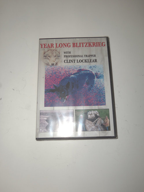 Year Long Blitzkrieg by Clint Locklear (DVD)