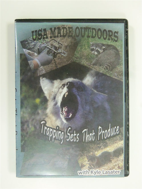 Trapping Set That Produce by Lasater (DVD)