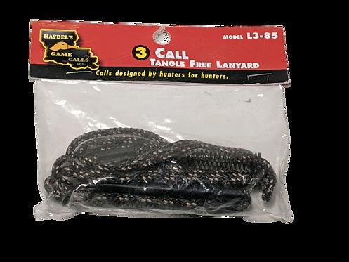 Haydel's Game Calls Inc 3 Call Tangle Free Lanyard