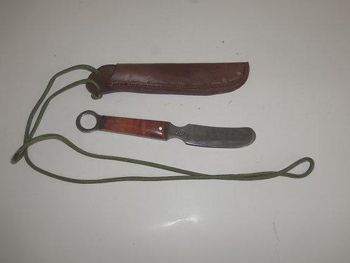 #1 Beaver w/ Neck Sheath Handmade in the USA