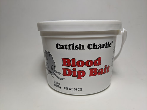 Catfish Charlie Dip Bait 36oz