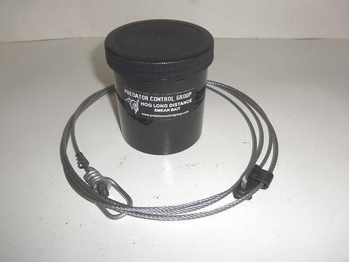 "96"" Hog Wolf Snares W/ PCG Hog LDC Bait"