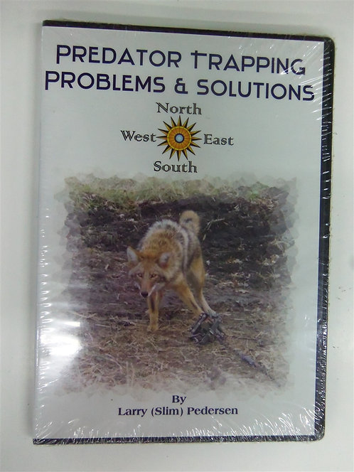 Predator Trapping Problems & Solutions by Pederson (DVD)
