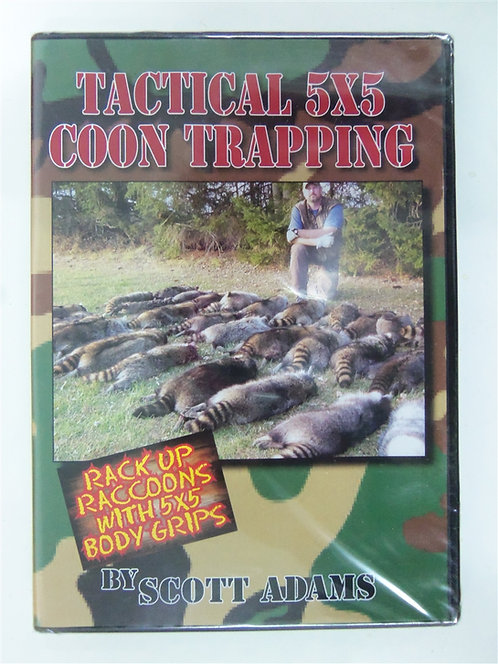Tactical 5x5 Coon Trapping by Scott Adams (DVD)
