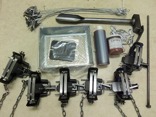 Bridger #2 O/S Coil Spring Coyote Trapping Package