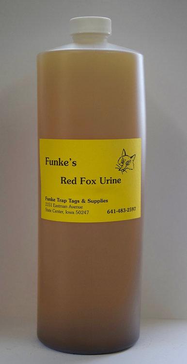 Funke's Red Fox Urine