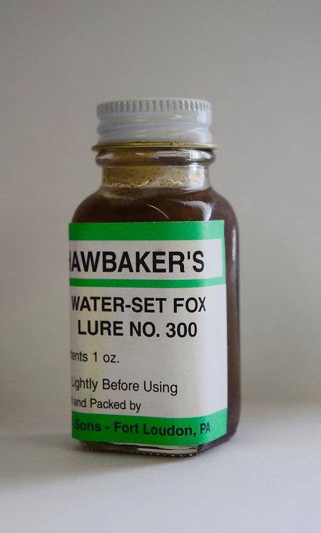 Water-Set Fox No. 300