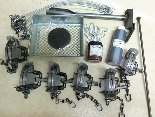 Duke #2 O/S Coil Spring Coyote Trapping Package