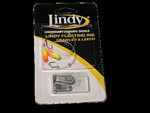 Lindy Floating Rig Crawler & Leech Orange/Yellow