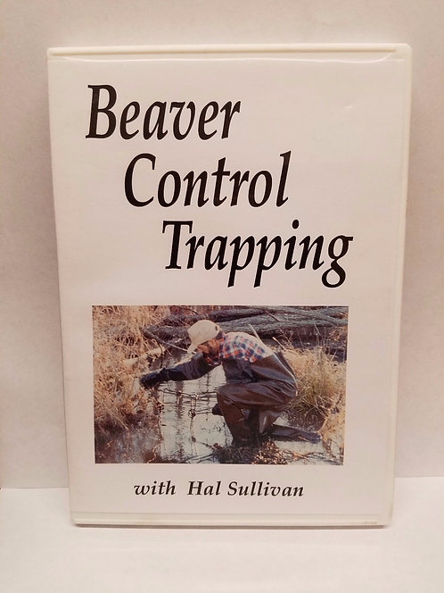 Beaver Control Trapping by Sullivan (DVD)