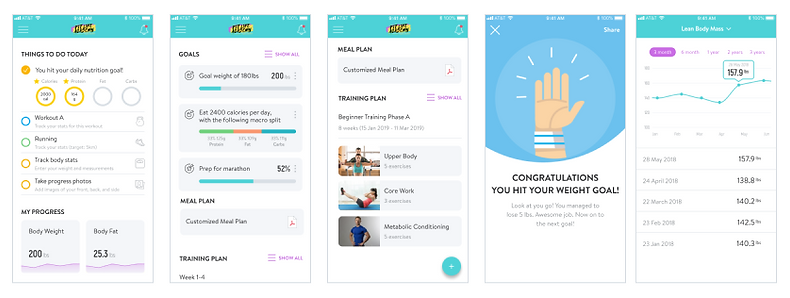 Fit Life Academy App Preview