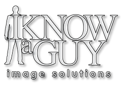 I-Know-A-Guy-White-Fill-Black-Shadow-Log