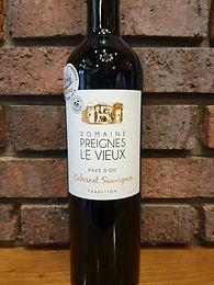 Domaine Preignes-le-Vieux 2018 Cabernet Sauvignon 100%