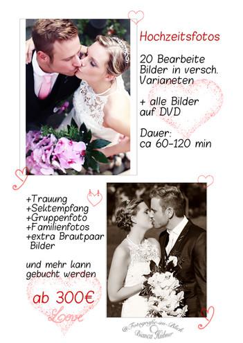 Hochzeitsangebot