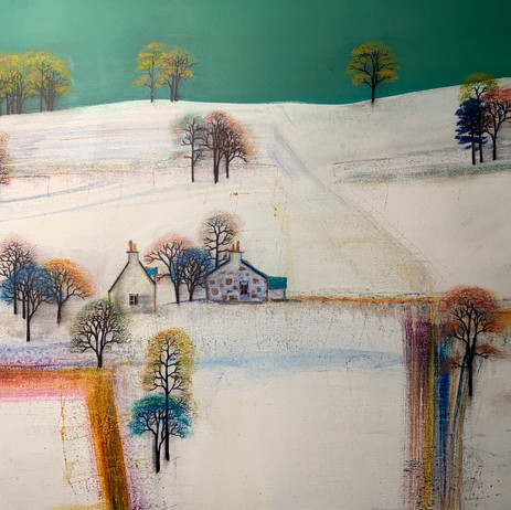 'Snow covered Hills'