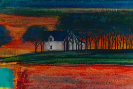 'Dreams And Fires At Dusk'. Erraid Gaskell