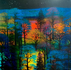 'Trees Under the Star'