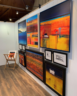 Erraid Gaskell, Fortingall Art 'Annual Summer Show' 2019, Fortingall.