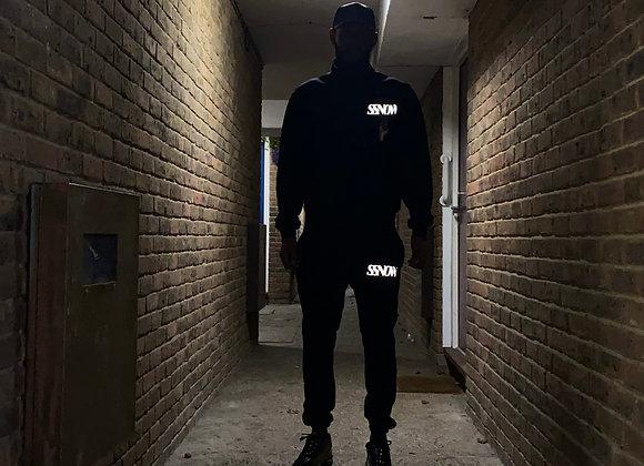 SSNOW Reflective Joggers (BLACK)