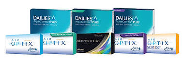 Air Optix, Dailies contact lenses
