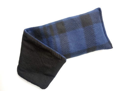 Blue & Black large plaid
