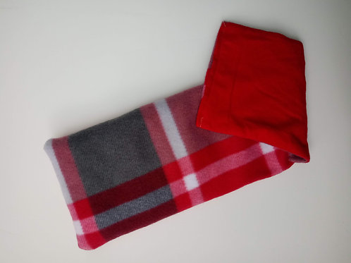 Red & Grey Large Plaid